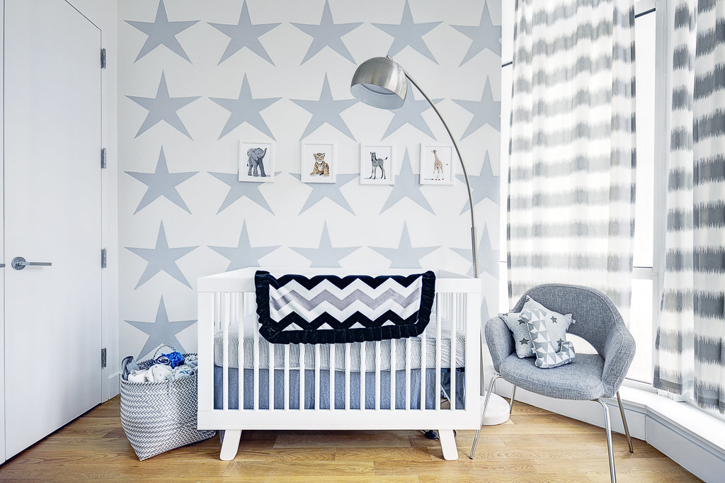 bedroom baby photo